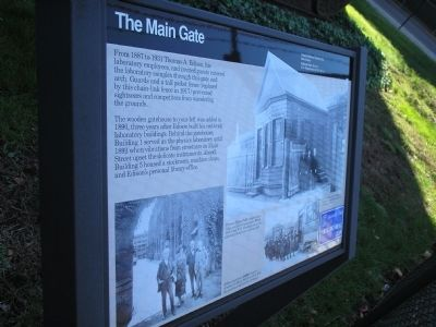 The Main Gate Marker image. Click for full size.