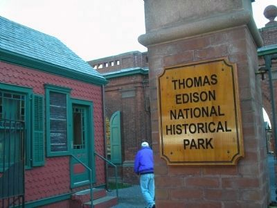 The Gatehouse at Edison's Laboratory image. Click for full size.