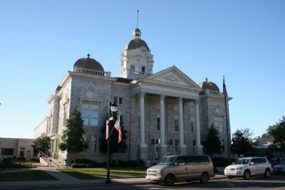 The New Shelby County Courthouse Built In 1908 image. Click for full size.