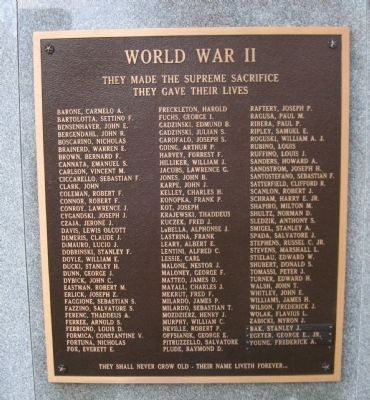 The Plaque on the Back of the Monument Photo, Click for full size