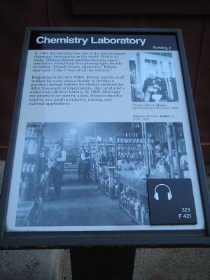 Chemistry Laboratory Marker image. Click for full size.