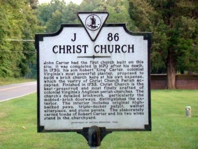 Christ Church Marker Photo, Click for full size