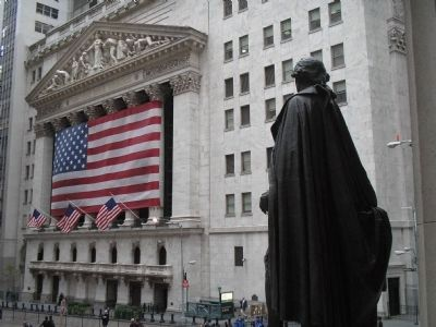 NYSE from Federal Hall image. Click for full size.