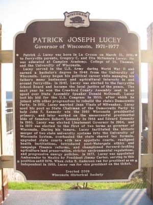 Patrick Joseph Lucey Marker image. Click for full size.