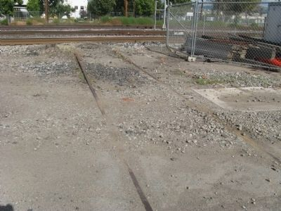 Tracks Leading to Speeder Shed image. Click for full size.