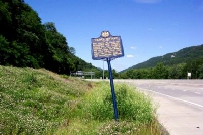 Travel History Marker image. Click for full size.