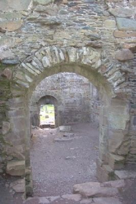 Kilmalkedar Church, Looking West Toward Entrance image. Click for full size.