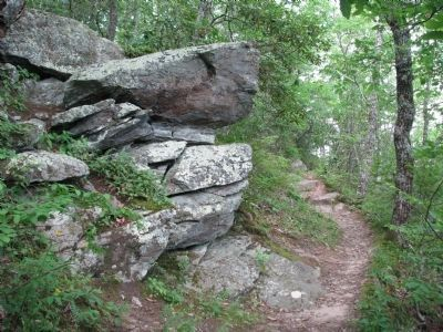 North Face Trail, Fort Mountain State Park Photo, Click for full size