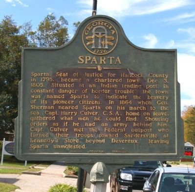 Sparta Marker image. Click for full size.