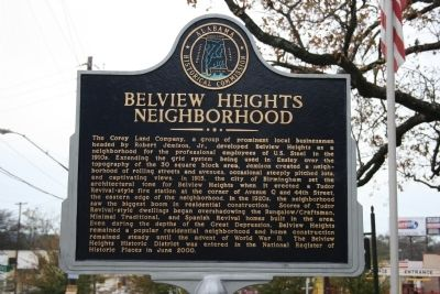 Belview Heights Neighborhood Marker image. Click for full size.