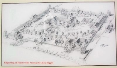 Fayetteville Arsenal Drawing on Marker image. Click for full size.