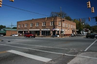 Downtown Blountsville, Alabama image. Click for full size.