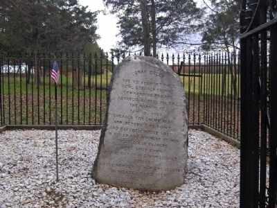 The 8th Vermont Volunteers Marker Photo, Click for full size