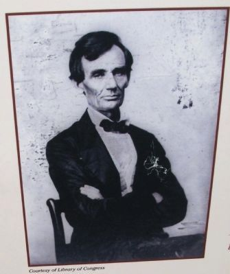 Close-up Photo - - ' Abraham Lincoln ' image. Click for full size.