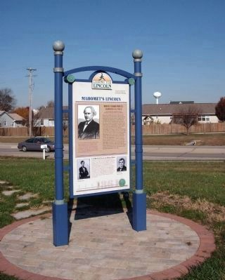 Full View - - Mahomet's Lincoln - Side image. Click for full size.