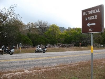 Site of McLaurin Massacre (Last Indian Raid in Frio Canyon) Marker image. Click for full size.