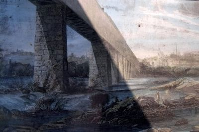 The First Richmond-Petersburg Railroad Bridge image. Click for full size.