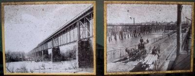 Rebuilt Richmond-Petersburg Railroad Bridge image. Click for full size.