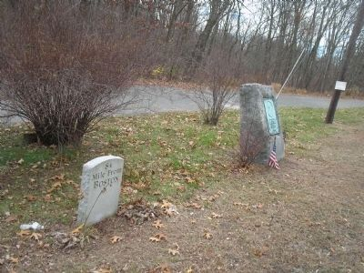 Markers in Palmer, Mass Photo, Click for full size
