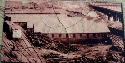One of Tredegar's rail line dump sites. image. Click for full size.