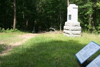 22nd Michigan - Infantry Marker image. Click for full size.