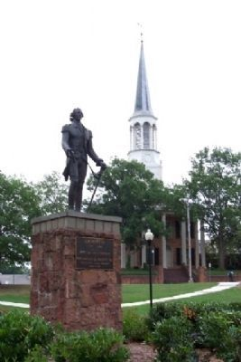 Lafayette Statue Photo, Click for full size