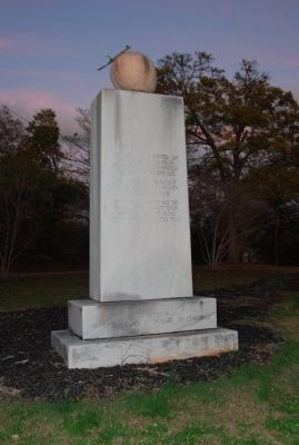 Peach Monument Marker image. Click for full size.
