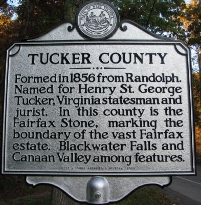 Tucker County Side image. Click for full size.