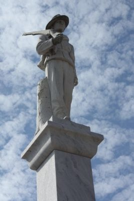 Waycross Confederate Monument image. Click for full size.