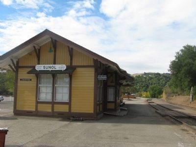 Niles Canyon Railway Depot in Sunol image. Click for full size.