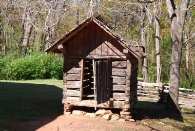 Corn Crib image. Click for full size.