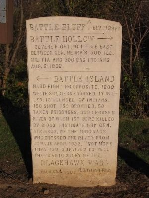 Black Hawk War Marker Photo, Click for full size