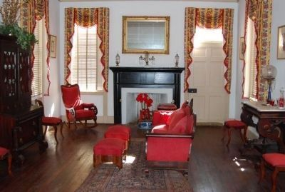 The parlor in the Homestead image. Click for full size.