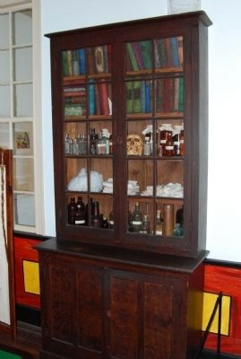 In the Doctor's study of the Homestead image. Click for full size.