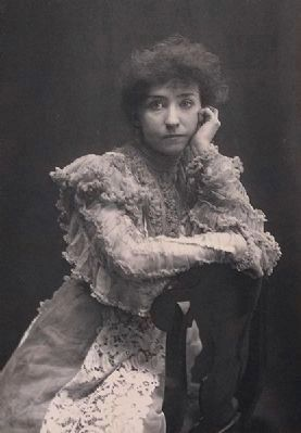 Minnie Maddern Fiske<br>(1865-1932) image. Click for full size.