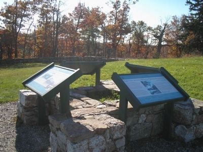 Markers at Hight Point State Park image. Click for full size.