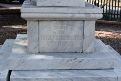 Coffee County Confederate Monument, east face image. Click for full size.