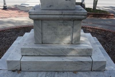 Coffee County Confederate Monument west face image. Click for full size.