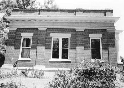 Hanna Levi Memorial Library / Manning Library left side image. Click for full size.