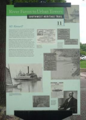 All Aboard! Marker. Photo, Click for full size