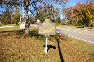 Birthplace of Benjamin Harvey Hill Marker image. Click for full size.