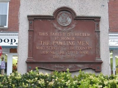 Pawling Civil War Memorial image. Click for full size.