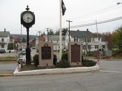 Pawling Veterans and World War I Memorials image. Click for full size.