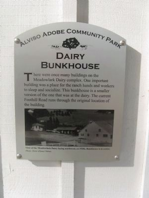 Dairy Bunkhouse Marker image. Click for full size.