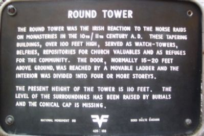 Round Tower Marker image. Click for full size.