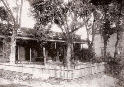 """Law Range"" - Location where Calhoun Practiced Law<br>on the Abbeville Square image. Click for full size."