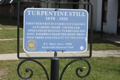 Turpentine Still Marker Photo, Click for full size