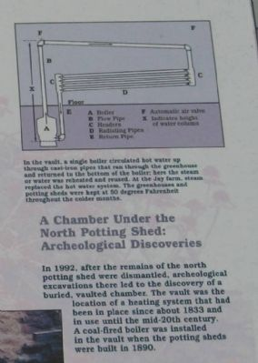 A Chamber Under the North Potting Shed: Archeological Discoveries image. Click for full size.