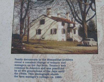 The Farm Manager's Cottage Marker image. Click for full size.