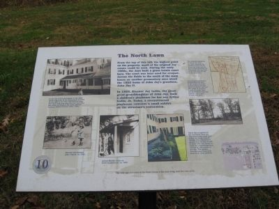 The North Lawn Marker image. Click for full size.
